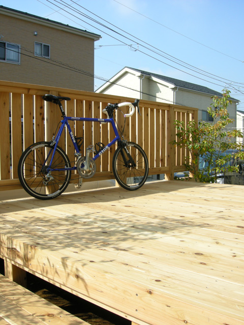 大切な自転車の置き場所に
