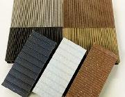 人工木・樹脂デッキ材 カットサンプル