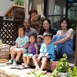 家族みんなで楽しめる 広々とした庭に大変身!