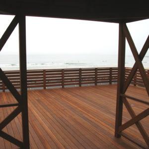 御宿の海が一望できる大型プライベート・ウッドデッキ! – 会員制リゾートクラブ「サンダンス・リゾート御宿」様