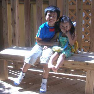 お庭の有効スペース増えました はね出し型のウッドデッキ – 鎌倉市S様