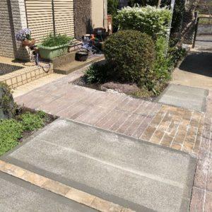 駐車場~玄関へのアプローチをリニューアル – 千葉市 N様邸