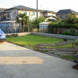 駐車場として 車が乗っても平気です