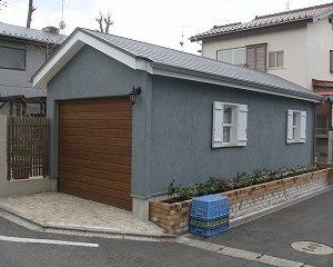 ナチュラルでかわいいガレージにシャッターを施工 東京都N様邸